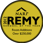 Remodel of the Year 2012 - Room Additions Over $250,000